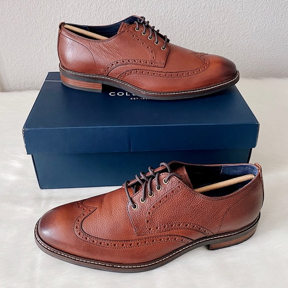 Watson Casual Wingtip Leather Derby